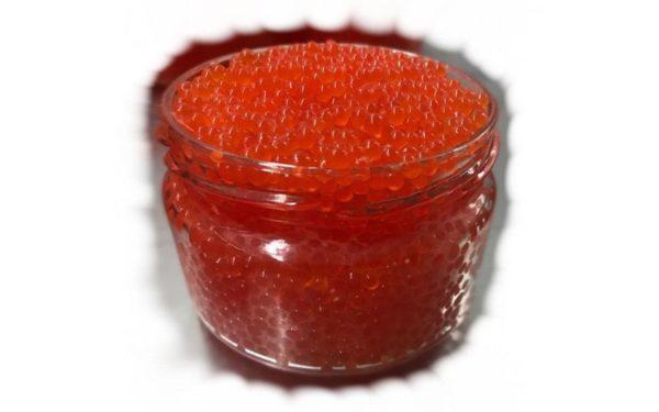Икра форели (красная) соленая