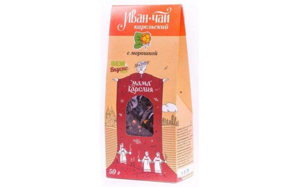 «Иван-чай Карельский» с морошкой 50 г.