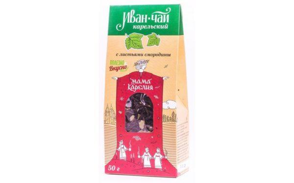 «Иван-чай Карельский» со смородиновым листом